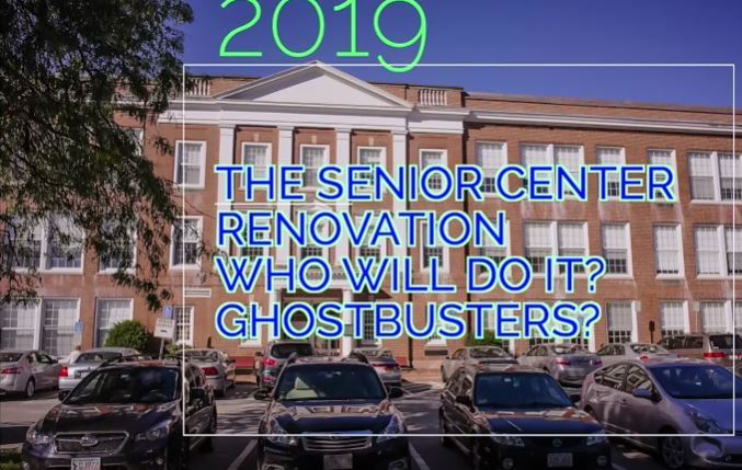 Senior Center Expansion Ghostbusters Video