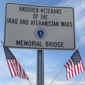 Iraq and Afghanistan Wars Veteran Memorial Bridge